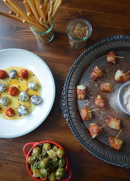 Three Simple Appetizers