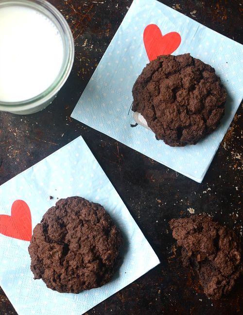 Deeply chocolate chocolate cookies