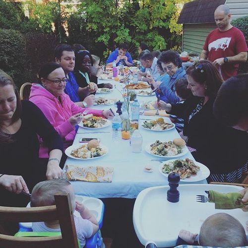 Backyard Thanksgiving