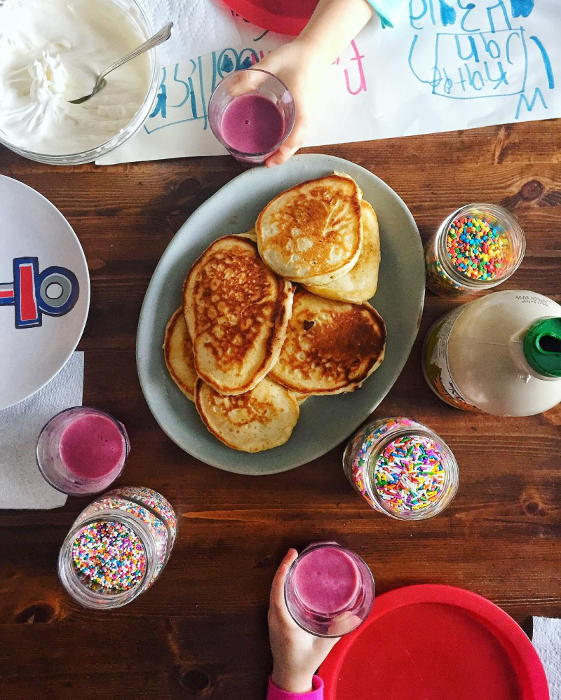 Pancake and Smoothie Party