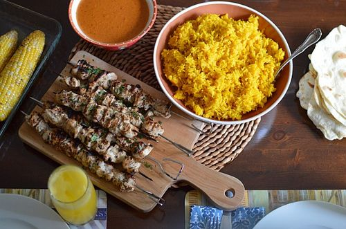 Chicken Tikka Masala Skewers 3