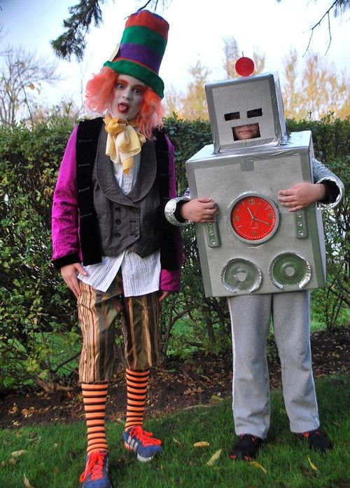 The Mad Hatter and the Robot