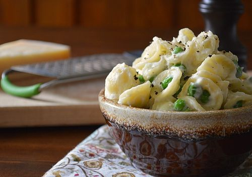 Pasta with Creamy Cauliflower Sauce 1