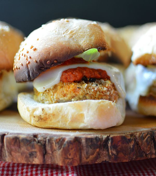 Chicken Parm Sliders 2