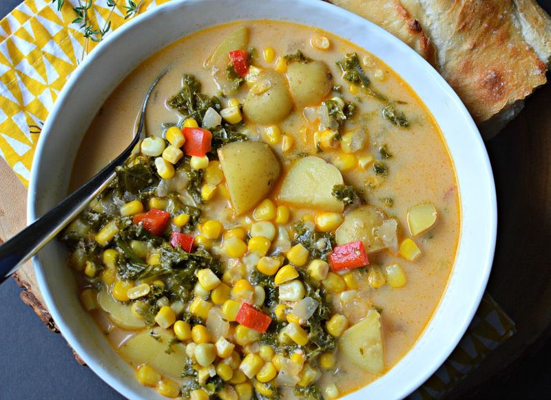Smoky Corn Chowder 2