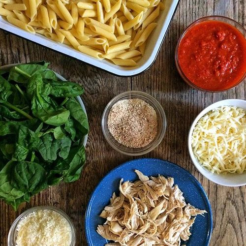 Chicken Parm Pasta Bake 2