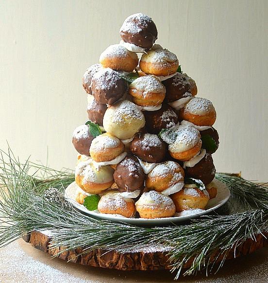 Recipe #2 - Cream Puff Christmas Tree - Main