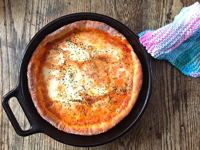 Greek Yogurt Pizza Dough 2