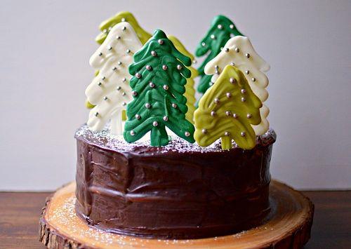 Christmas Tree Cake 2