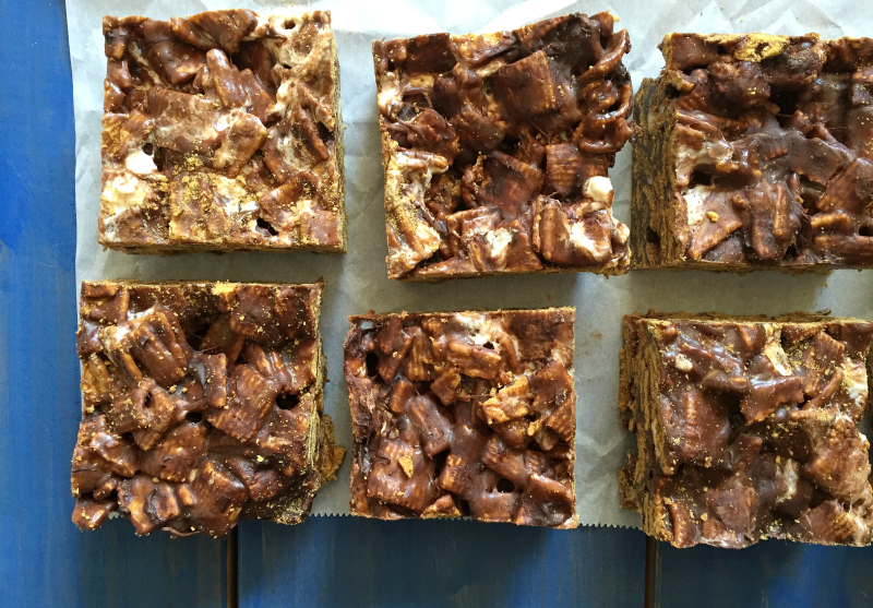 No-Bake S'mores Squares - Full Size