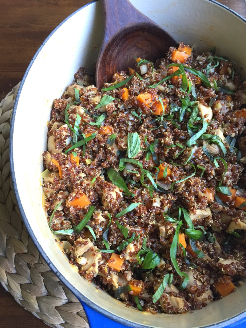 One-Pot Harissa Quinoa and Chicken 2