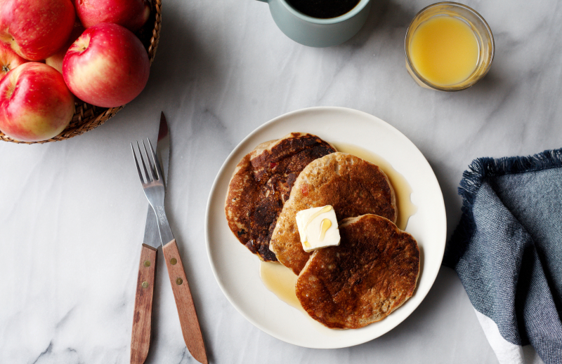 Apple Spice Pancakes 2