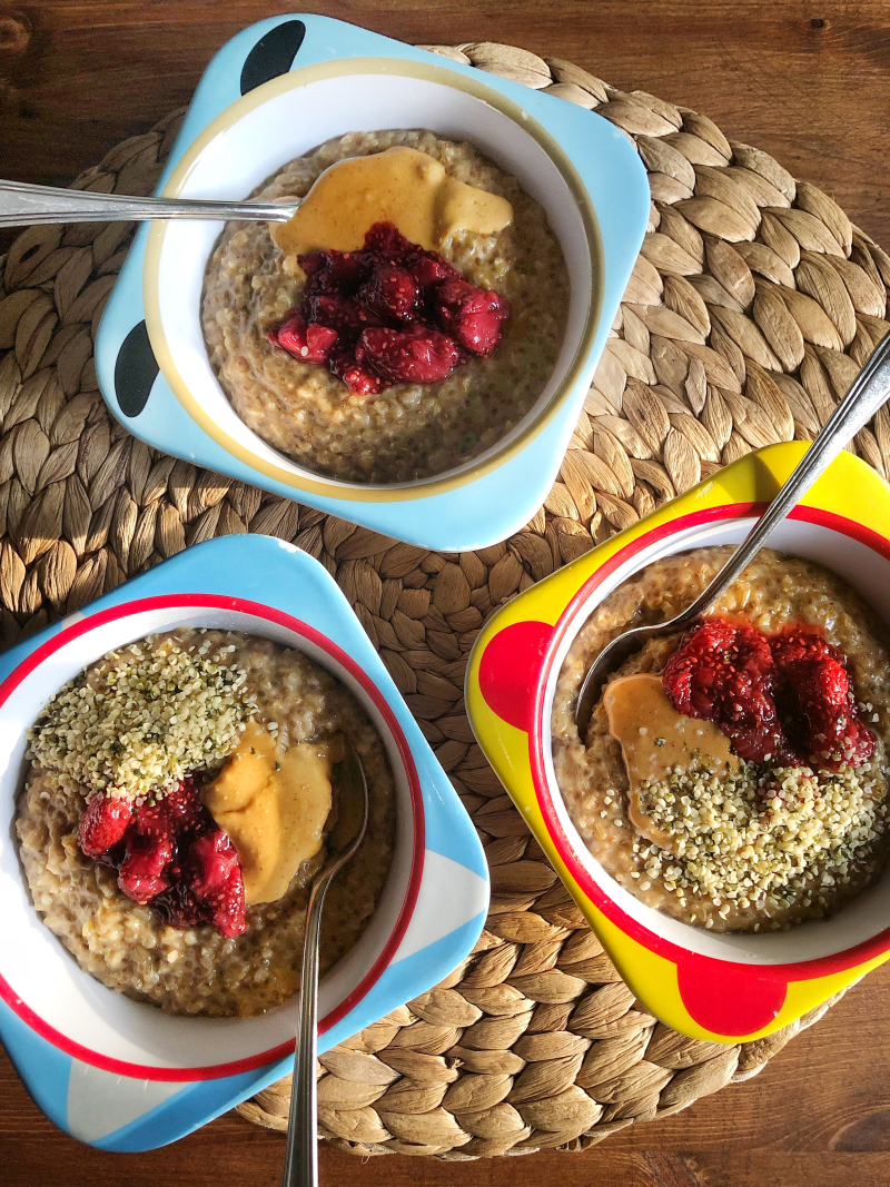 Brown Sugar and Chia Steel Cut Oats
